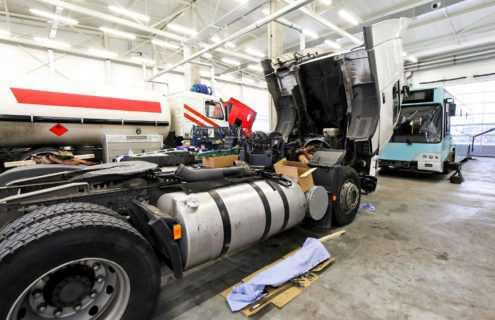 Naprawa pojazdów ciężarowych